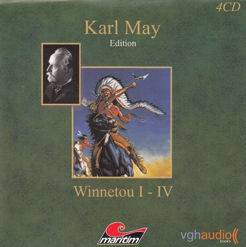 Karl May: Winnetou  I - IV *** Hörspiel ***