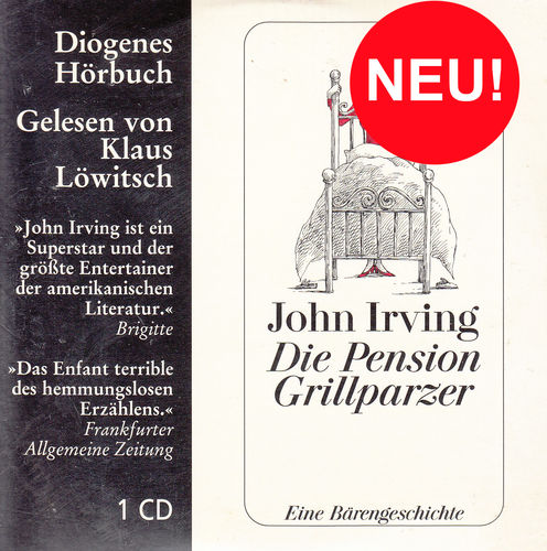 John Irving: Pension Grillparzer *** Hörbuch *** NEU *** OVP ***