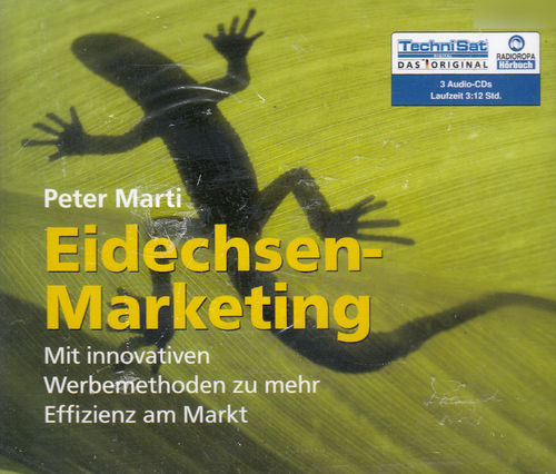 Peter Marti: Eidechsen-Marketing *** Hörbuch *** NEU *** OVP ***