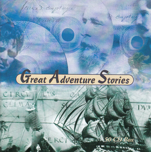 Great Adventure Stories *** 50 CDs + CD-Rom + Booklet ***