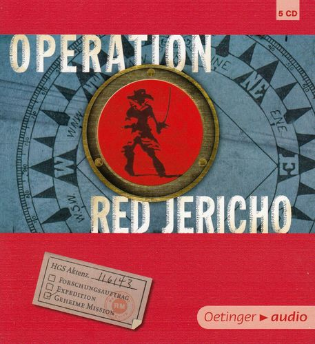 Joshua Mowll: Operation Red Jericho *** Hörbuch ***