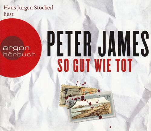 Peter James: So gut wie tot *** Hörbuch ***