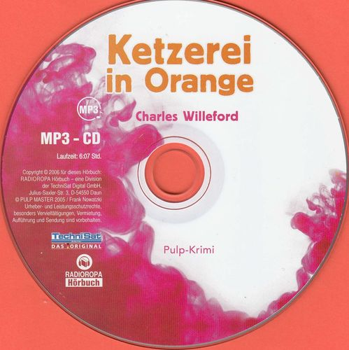 Charles Willeford: Ketzerei in Orange *** Hörbuch ***