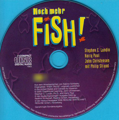 Stephen C. Lundin, Harry Paul, John Christensen: Noch mehr Fish *** Hörbuch ***