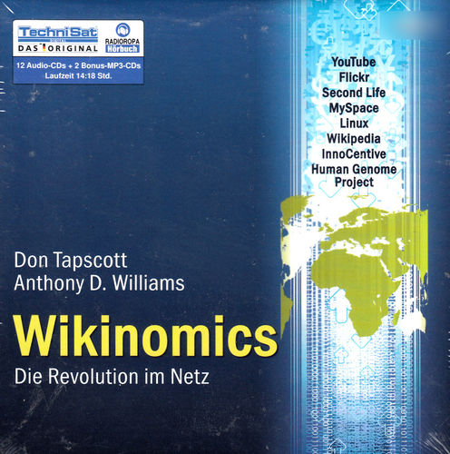 Don Tapscott, Anthony D. Williams: Wikinomics *** Hörbuch *** NEU *** OVP ***