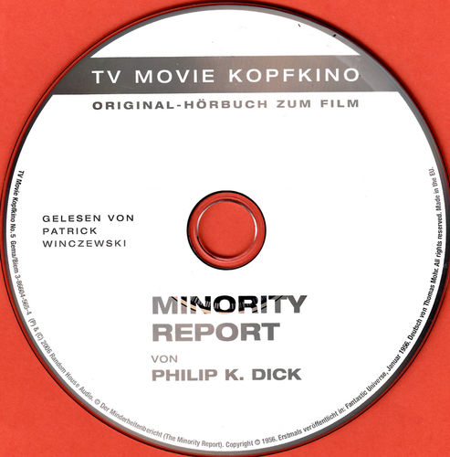 Philip K. Dick: Minority Report *** Hörbuch ***
